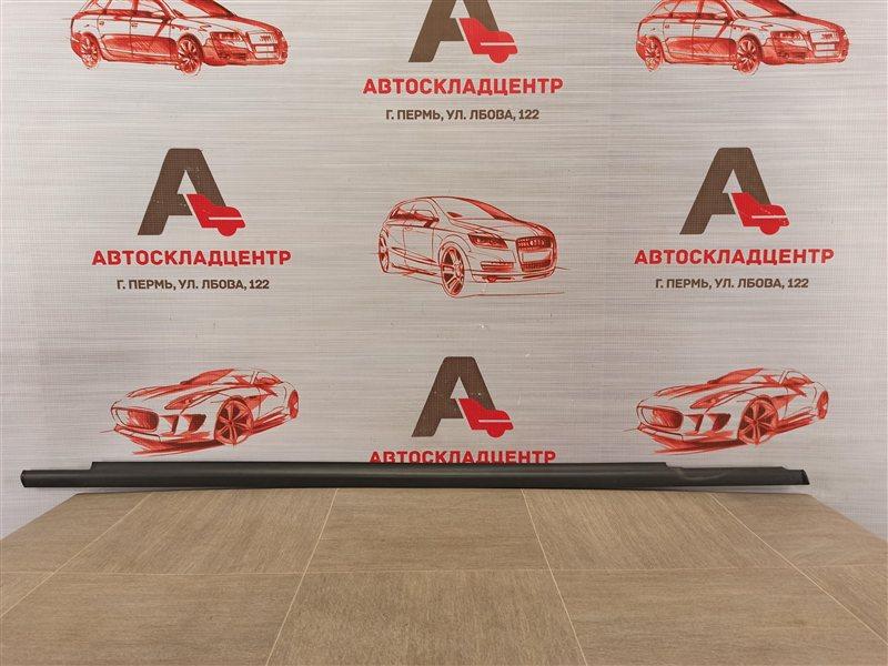 Молдинг-уплотнитель стекла двери (бархотка) Volkswagen Tiguan (2007-2017) передний правый