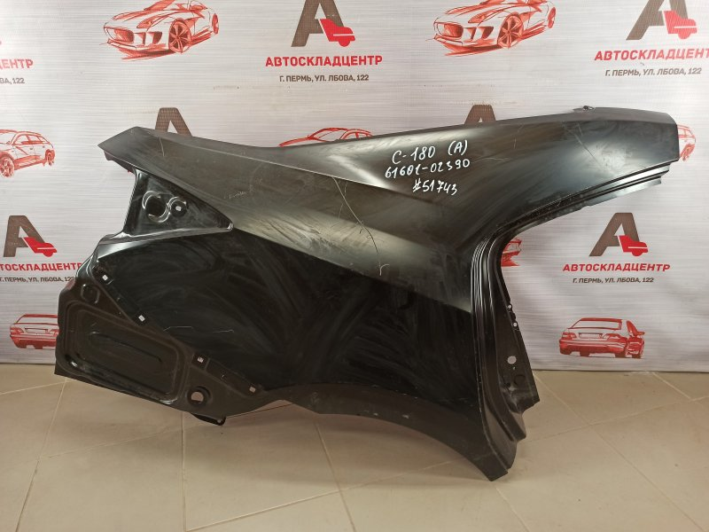 Крыло заднее правое Toyota Corolla (E18_) 2012-2019