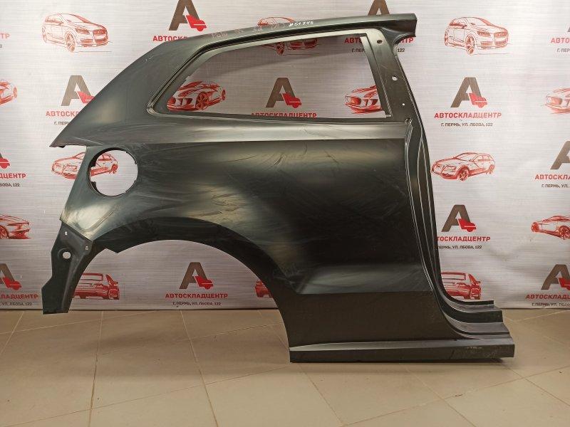 Крыло заднее правое Volkswagen Polo (Mk5) Хэтчбэк 2008-2014