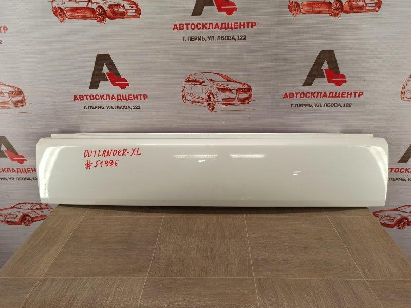 Накладка / молдинг двери багажника Mitsubishi Outlander (2005-2012)