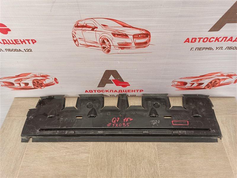 Дефлектор воздушного потока основного радиатора Audi Q7 (2015-Н.в.) нижний