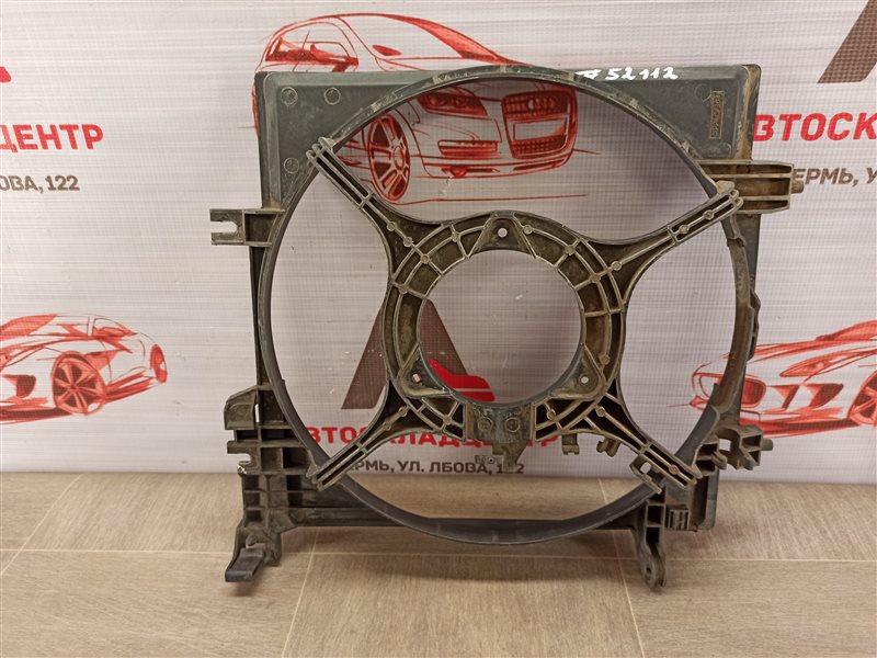 Диффузор радиатора охлаждения - рамка вентиляторов Subaru Forester (S12) 2007-2013 левый