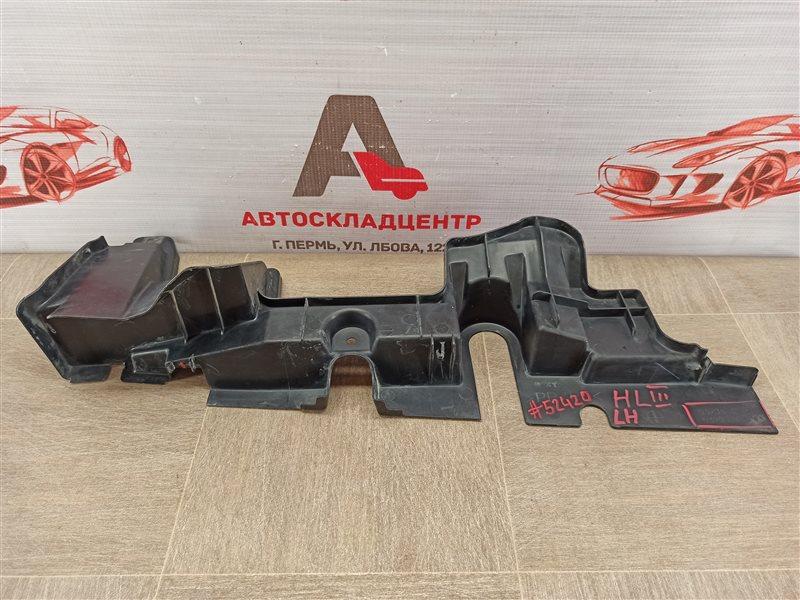 Дефлектор воздушного потока основного радиатора Toyota Highlander (Xu50) 2013-Н.в. левый