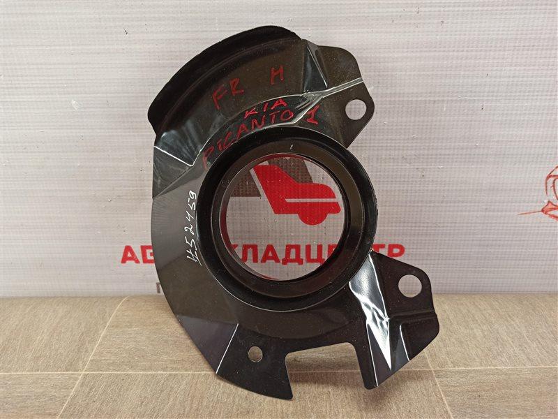 Тормозная система - кожух тормозного диска Kia Picanto (2004-2011) передняя правая