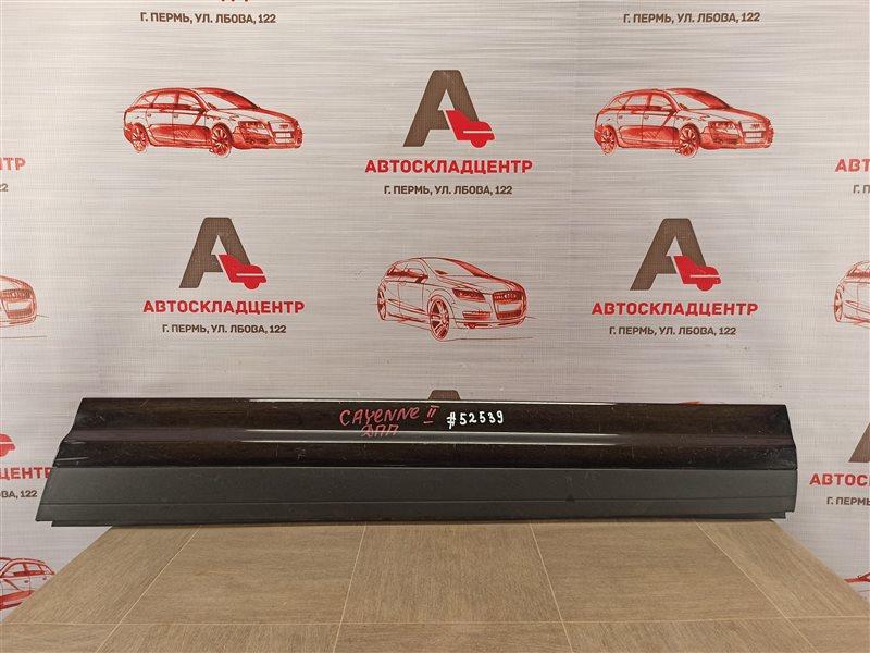 Накладка двери передней правой Porsche Cayenne (2010-2018)