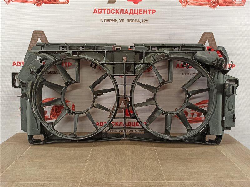 Диффузор радиатора охлаждения - рамка вентиляторов Volkswagen Crafter (2006-2016)