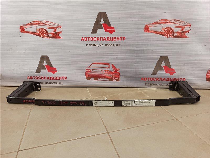 Усилитель бампера переднего - отбойник нижний Chevrolet Aveo 2012-2015