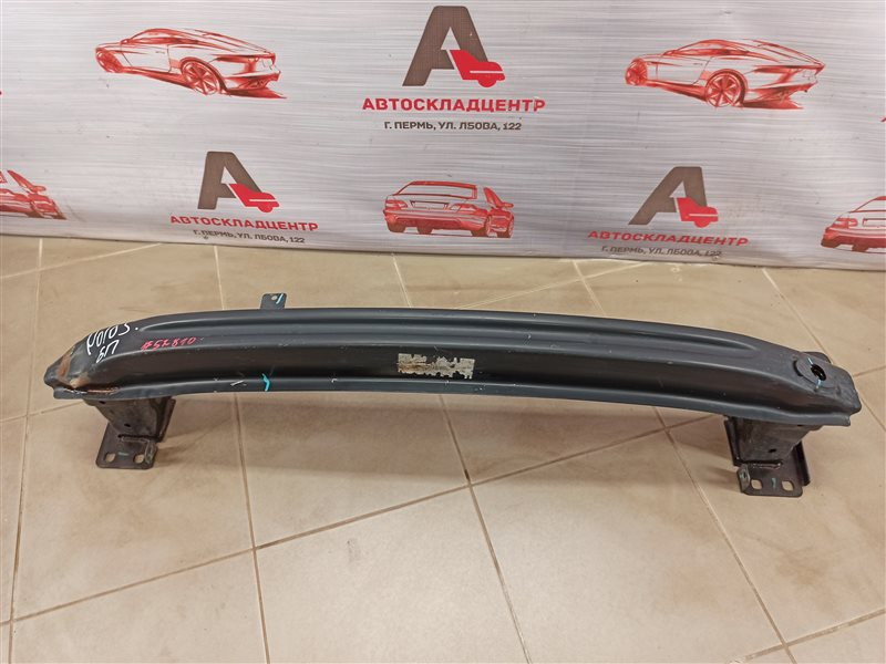 Усилитель бампера переднего Volkswagen Polo (Mk5) Седан 2010-2020