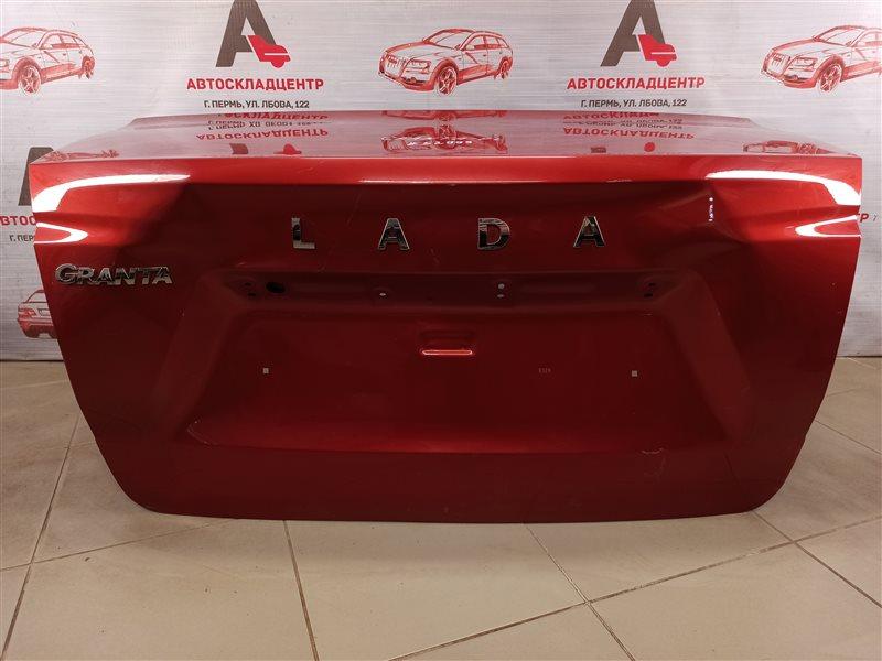 Крышка багажника Lada Granta 2018