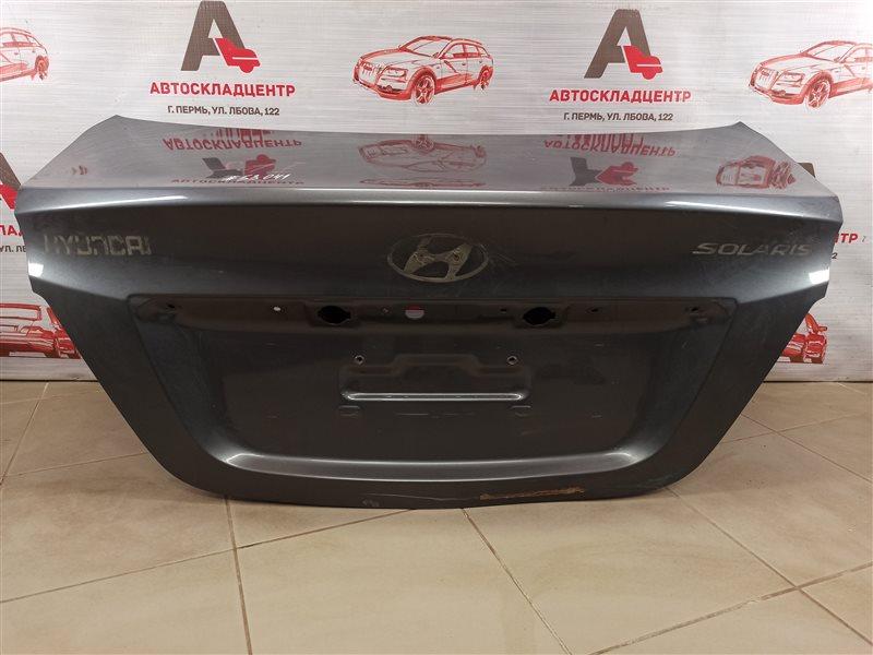 Крышка багажника Hyundai Solaris (2010-2017)