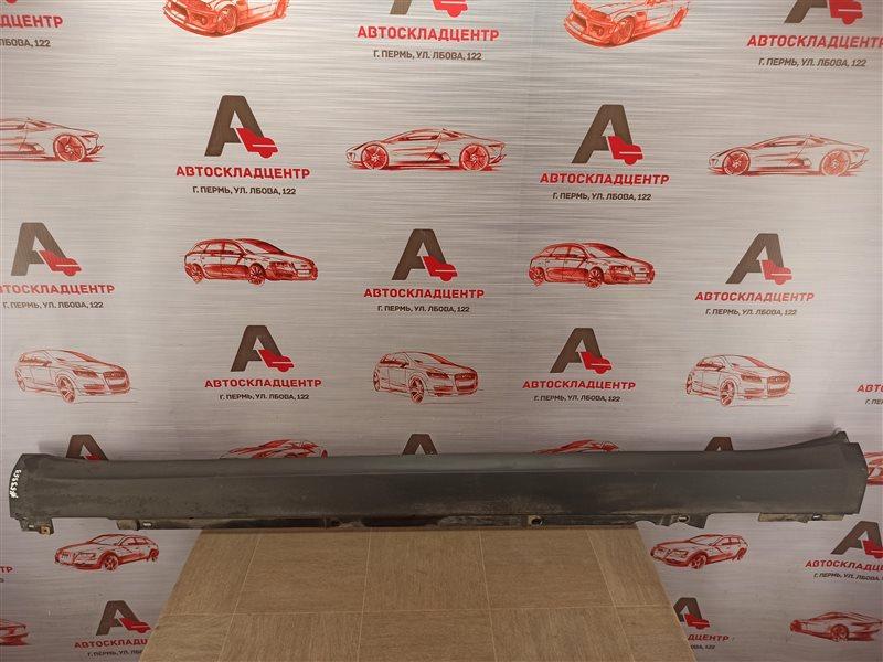 Накладка порога кузова - наружная облицовка Porsche Macan (2013-Н.в.) левая