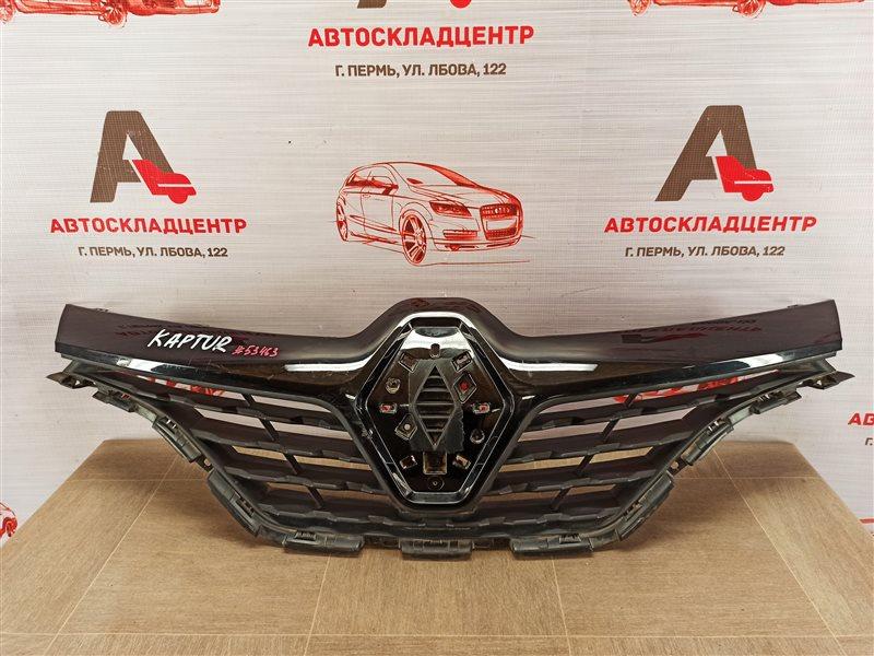 Решетка радиатора Renault Kaptur (2016-Н.в.)