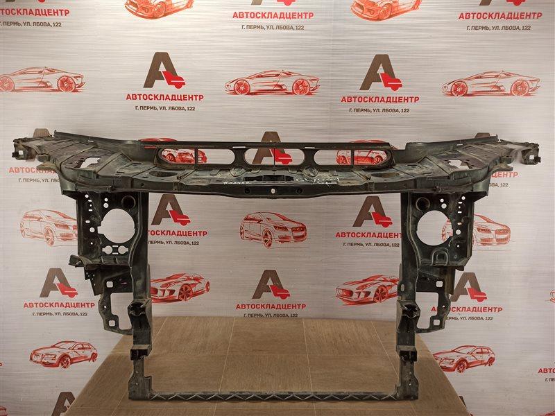 Панель передка (телевизор) - рамка радиатора Mercedes Gle-Klasse (W166) 2015-2018