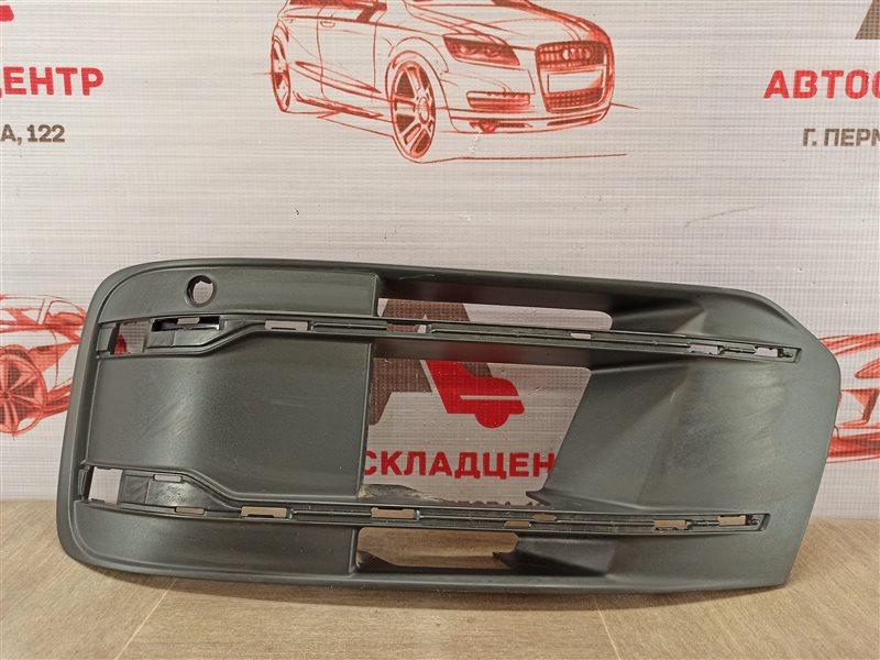 Решетка бампера переднего Audi Q7 (2015-Н.в.) левая