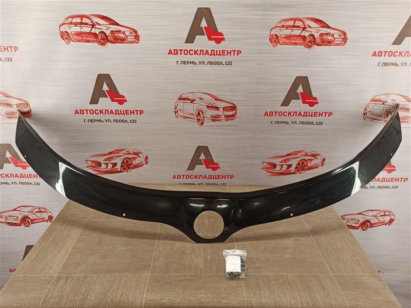 Дефлектор капота ( мухобойка ) Skoda Rapid (2012-2020)