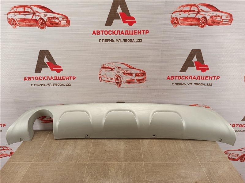 Спойлер (накладка) бампера заднего Renault Kaptur (2016-Н.в.)
