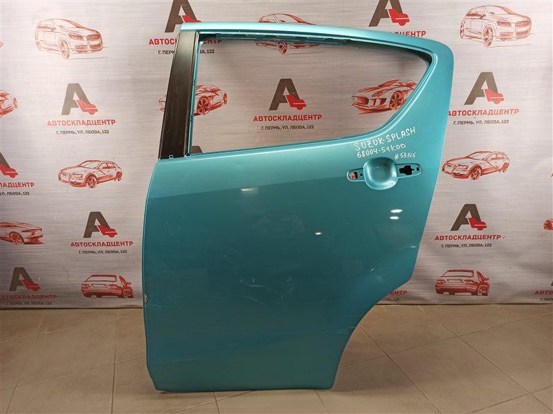 Дверь задняя левая Suzuki Splash (2008-2015)