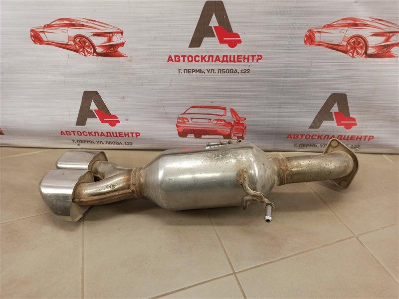 Выхлопная система - глушитель Hyundai Santa-Fe (2012-2019)
