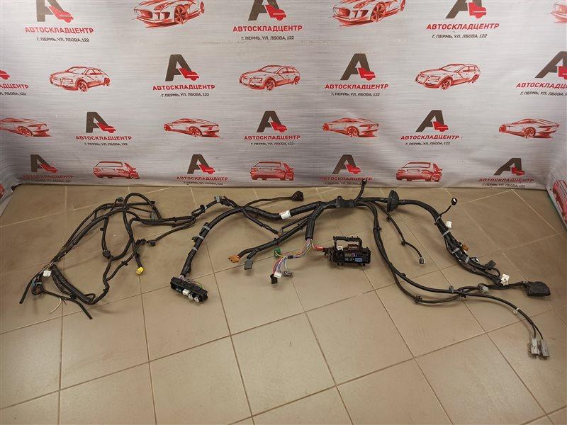 Электрика - проводка моторного отсека Nissan Qashqai (2013-Н.в.)
