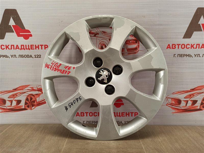 Колпак колесного диска Peugeot 408 (2012-Н.в.)