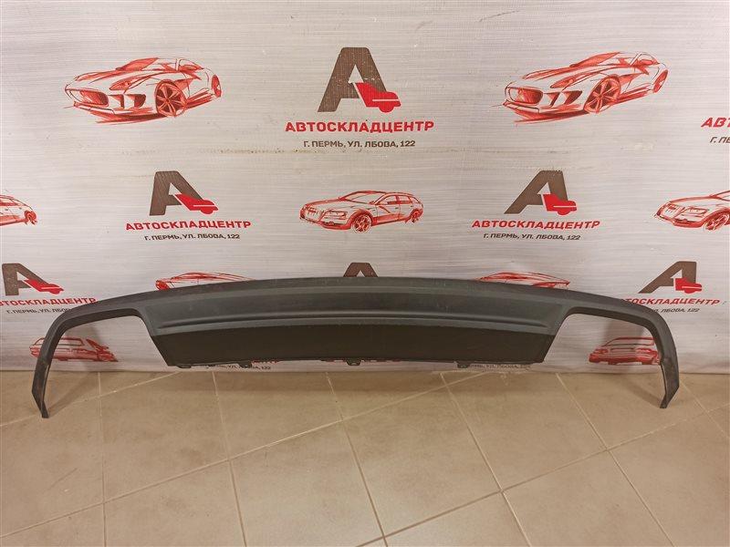 Спойлер (накладка) бампера заднего Audi A6 (C7) 2010-2018 2014