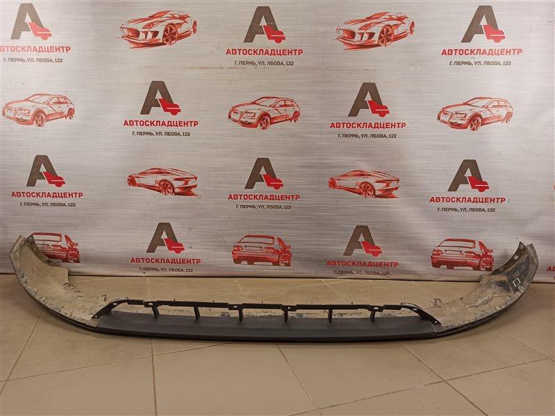 Спойлер (юбка) бампера переднего Audi Q3 (2011-2019) 2011
