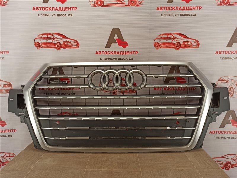 Решетка радиатора Audi Q7 (2015-Н.в.)