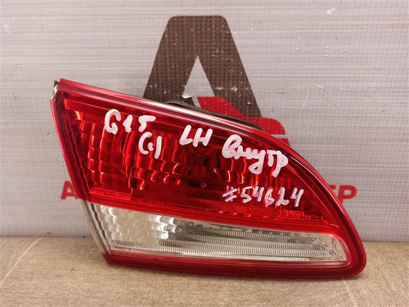 Фонарь левый - вставка в дверь / крышку багажника Nissan Almera (2012-2019)