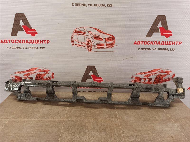 Абсорбер (наполнитель) бампера переднего Porsche Cayenne (2017-Н.в.)