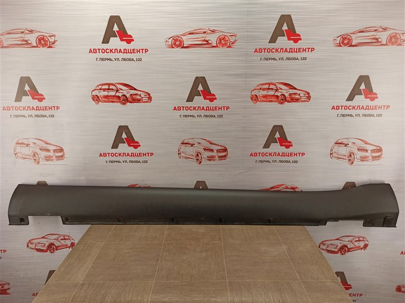 Накладка порога кузова - наружная облицовка Kia Soul (2014-2019) левая