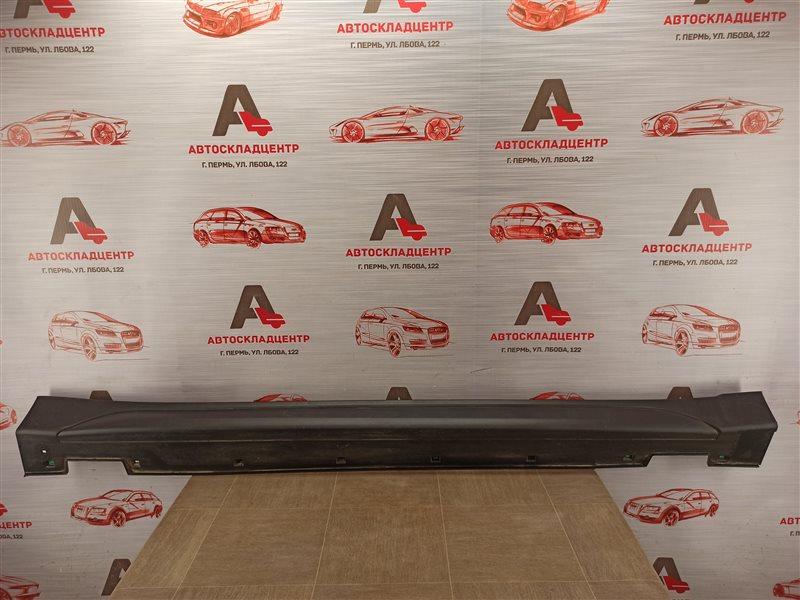 Накладка порога кузова - наружная облицовка Hyundai Tucson (2015-Н.в.) правая