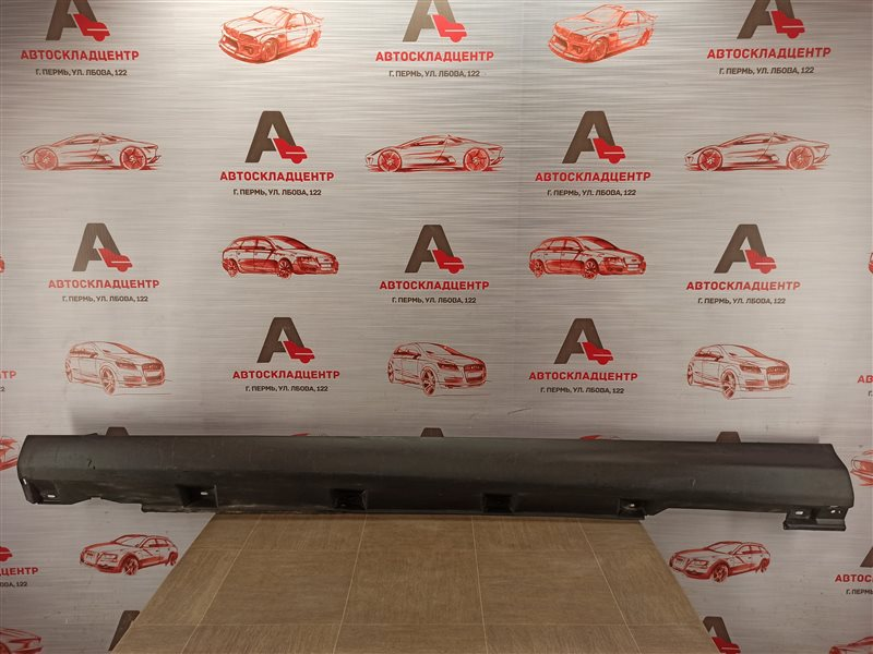 Накладка порога кузова - наружная облицовка Ford Focus 3 2010-2019 правая