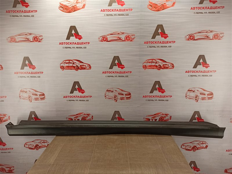 Накладка порога кузова - наружная облицовка Mitsubishi Asx (2010-Н.в.) левая