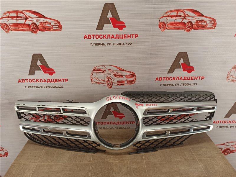 Решетка радиатора - молдинг Mercedes Gls-Klasse (W166) 2015-2019