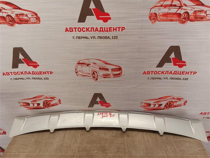Спойлер (юбка) бампера переднего Kia Sportage (2016-Н.в.) 2018