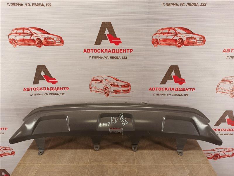 Спойлер (накладка) бампера заднего Lexus Rx -Series 2015-Н.в.