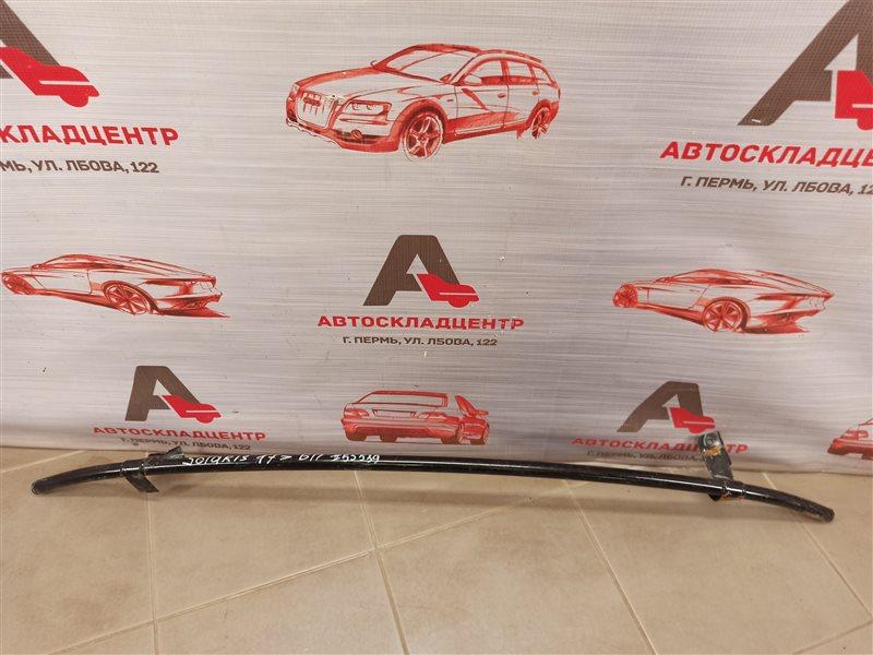 Усилитель бампера переднего - отбойник нижний Hyundai Solaris (2017-Н.в.)