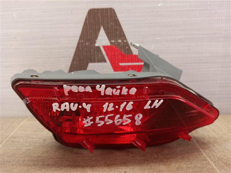 Фонарь противотуманный Toyota Rav-4 (Xa40) 2012-2019 2012 левый