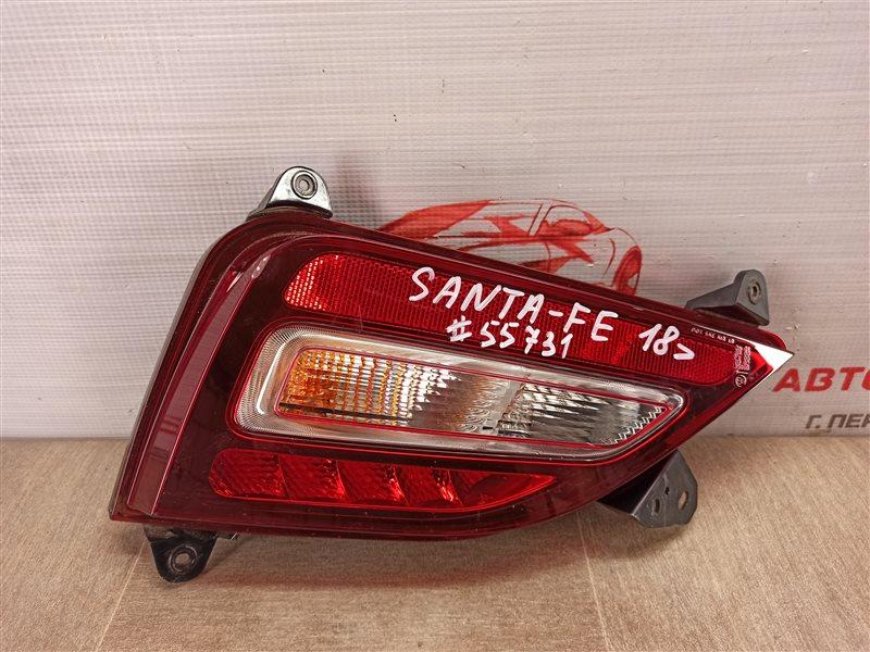 Фонарь противотуманный Hyundai Santa-Fe (2018-Н.в.) левый