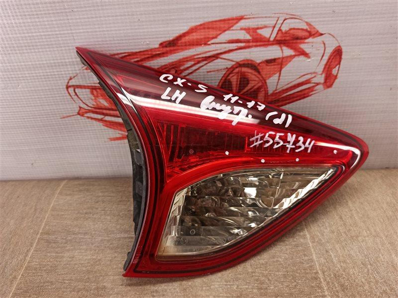 Фонарь левый - вставка в дверь / крышку багажника Mazda Cx-5 (2011-2017) 2011