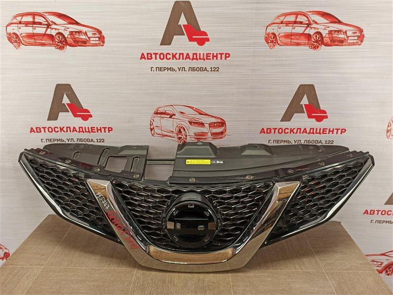 Решетка радиатора Nissan Qashqai (2013-Н.в.) 2013