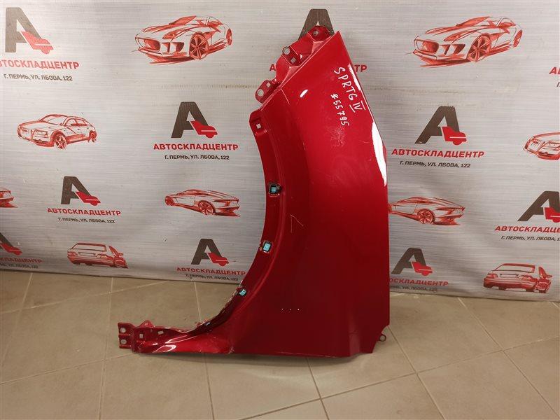 Крыло переднее левое Kia Sportage (2016-Н.в.)