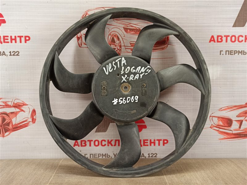 Вентилятор радиатора охлаждения - крыльчатка с мотором Lada Vesta