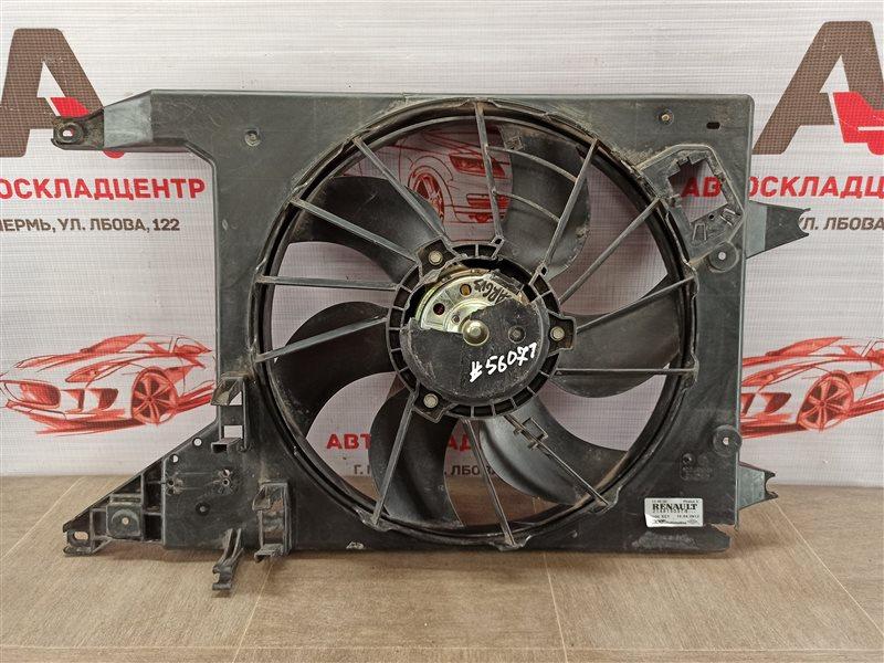 Диффузор радиатора охлаждения - в сборе Renault Logan (2004-2016)
