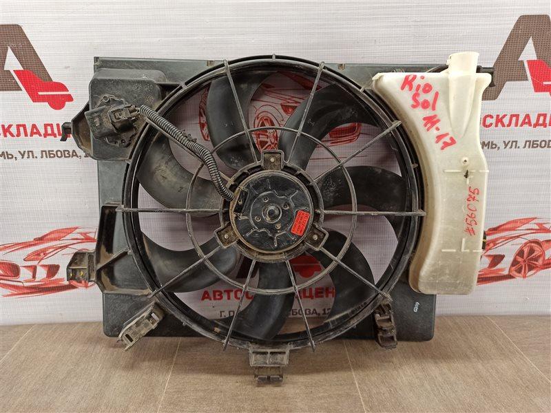 Диффузор радиатора охлаждения - в сборе Kia Rio (2011-2017)