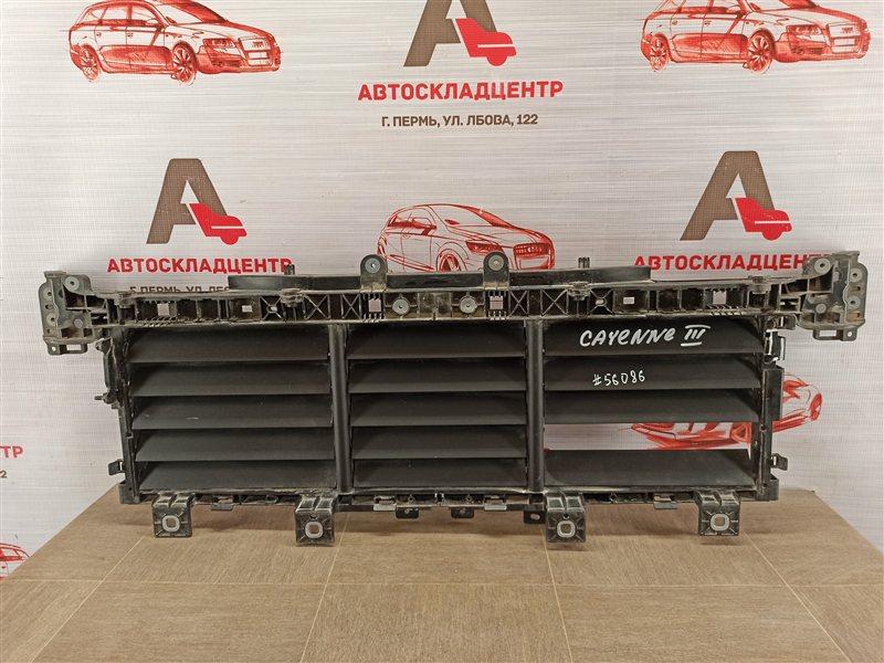 Дефлектор воздушного потока основного радиатора Porsche Cayenne (2017-Н.в.)