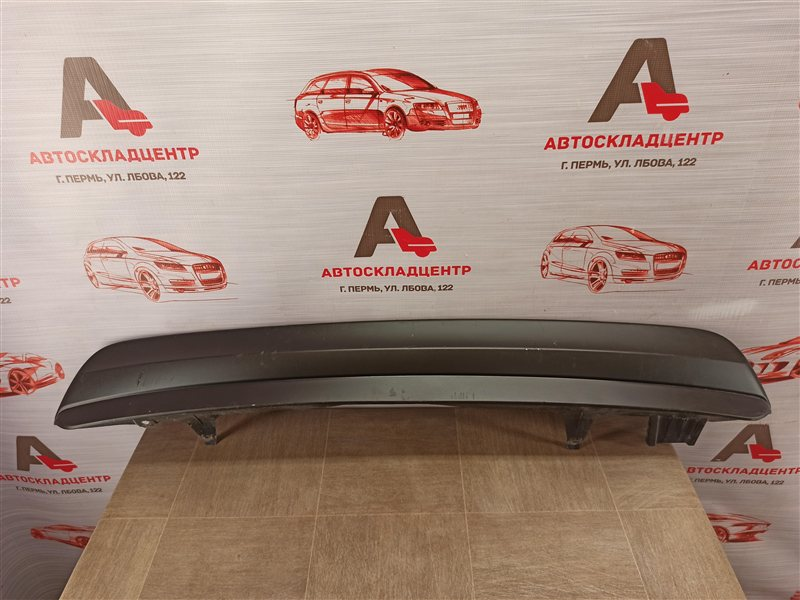 Спойлер (накладка) бампера заднего Toyota Highlander (Xu40) 2010-2013