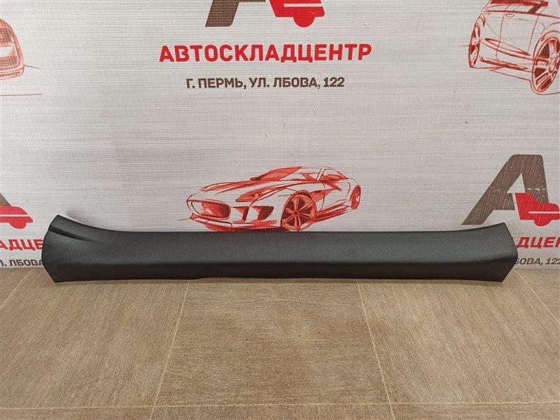 Накладка порога кузова - обшивка салона Toyota Corolla (E18_) 2012-2019 передняя левая