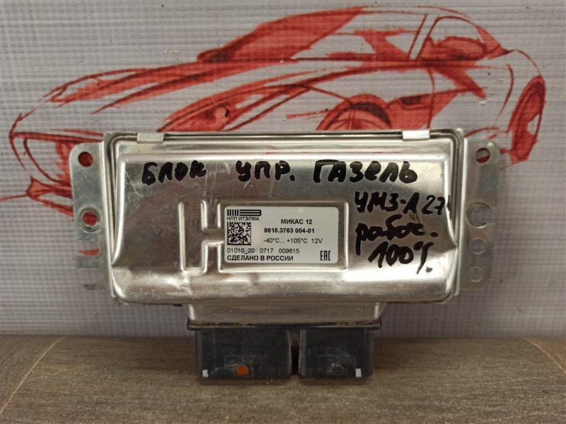 Блок управления двигателем (эбу) Газ Газель