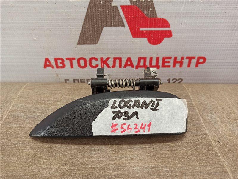 Ручка двери наружная Renault Logan (2014-Н.в.) задняя левая